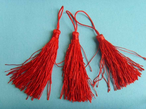 custom polyester decorative tassels