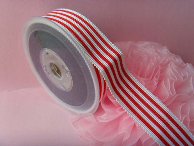 custom stripe petersham ribbon