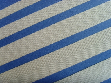 raw white twill cotton ribbon
