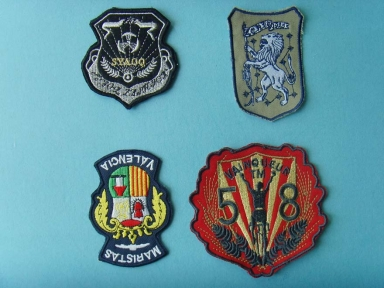 nylon embroidery patch for clothing