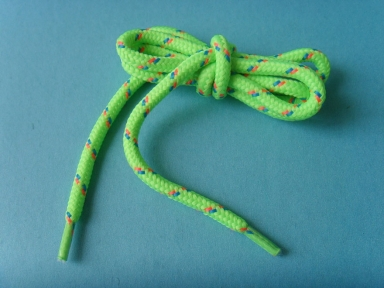 round polyester shoelace for boots