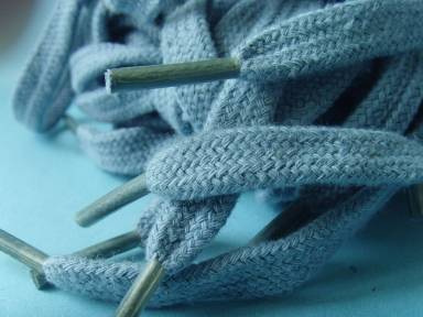 cotton hollow shoelace for hoodies