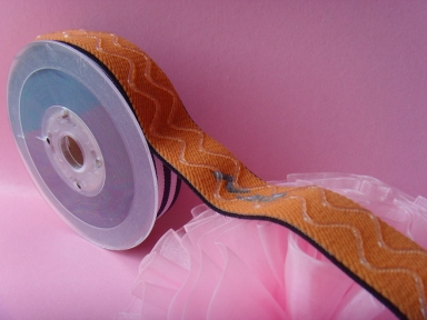 nylon woven elastic with wave line silicone